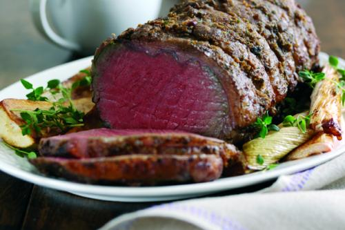 Grass Fed Beef Sirloin Roasting Joint Primal Meats