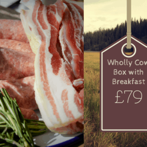 grass fed meat box with breakfast