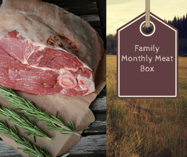 grass fed meat box